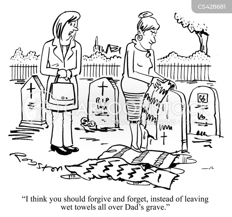 forgive and forget cartoon