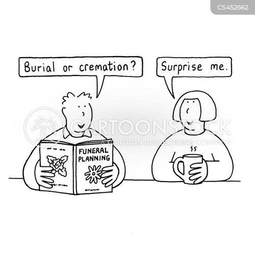 cremate cartoon
