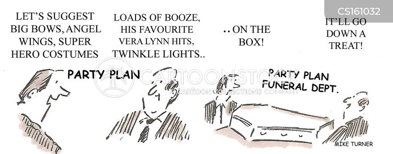 funeral planning cartoons and comics funny pictures from cartoonstock