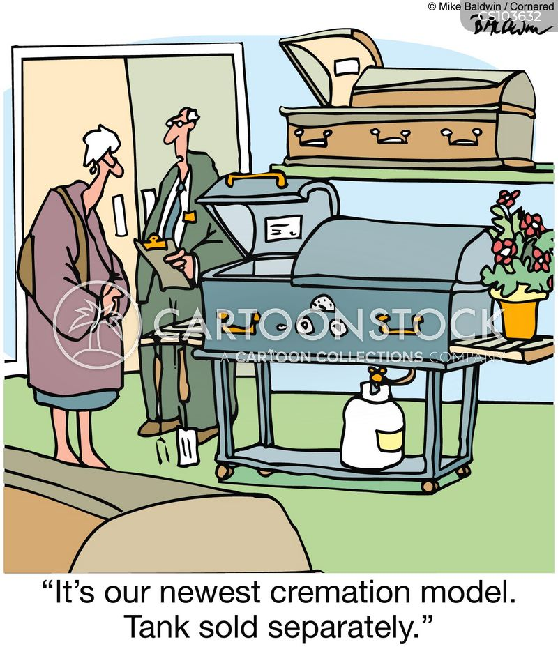 cremates cartoon