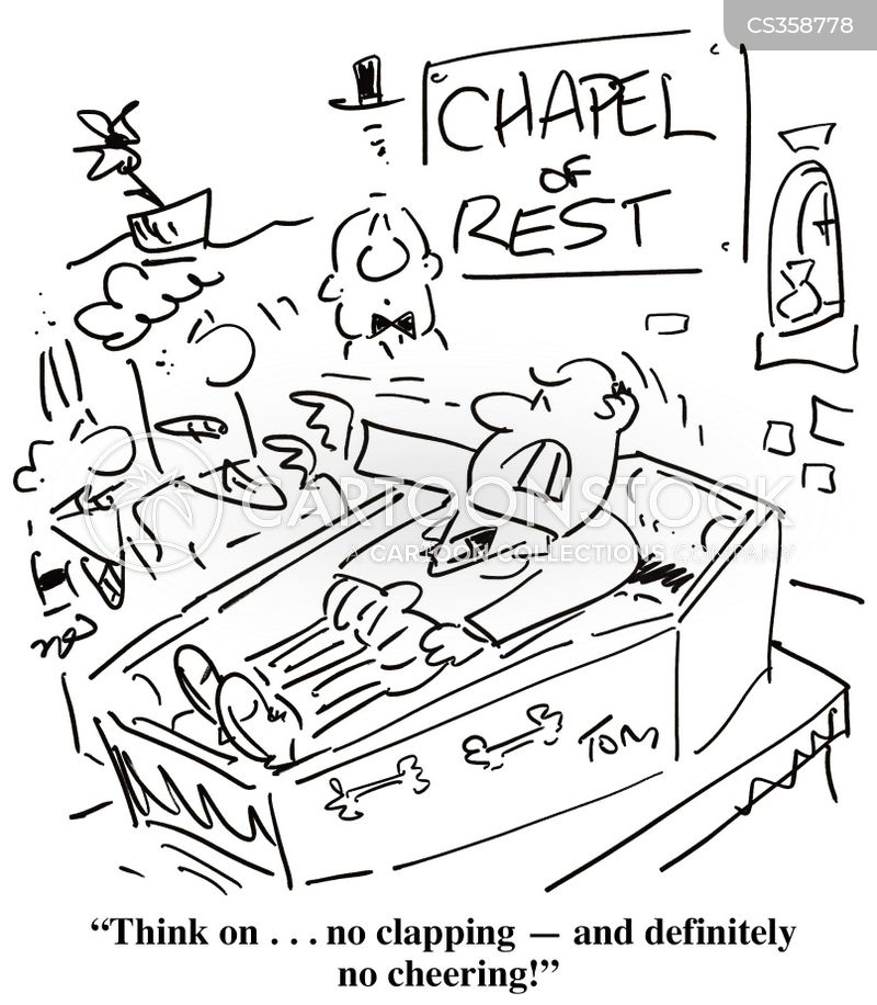 paying respects cartoon