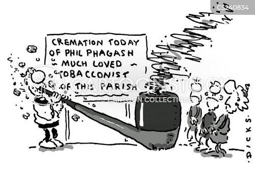 pipe smoker cartoon