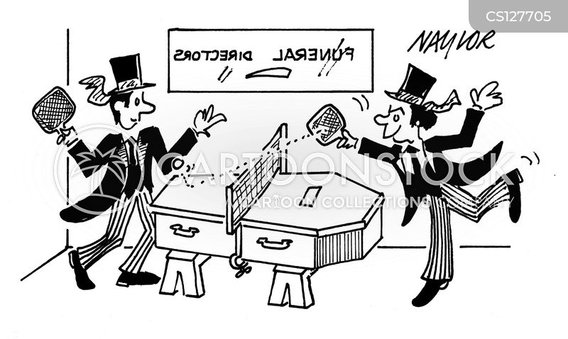table-tennis cartoon