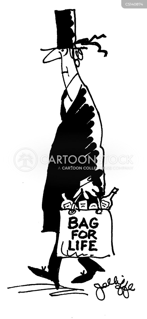 bags for life cartoon