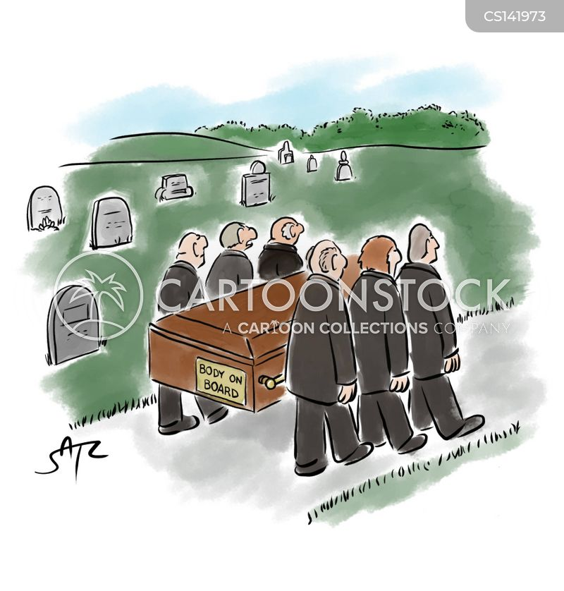 pallbearers cartoon