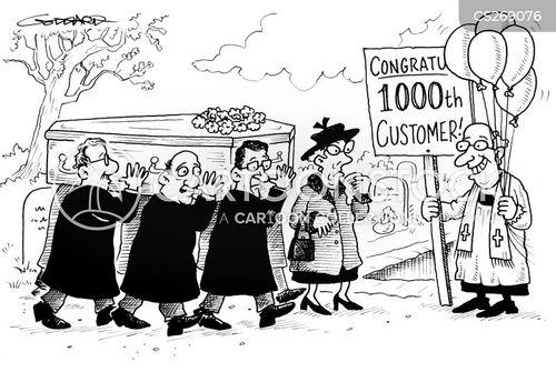 cemetary cartoon