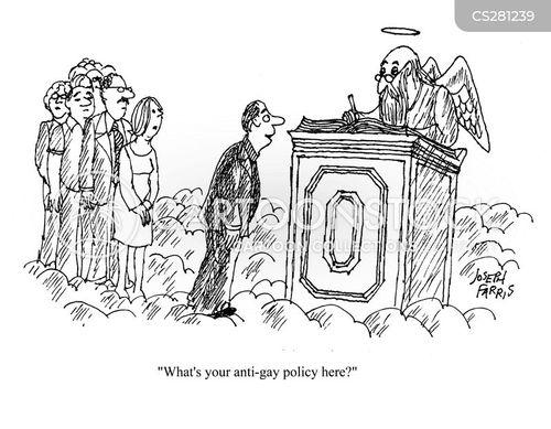anti-gay cartoon