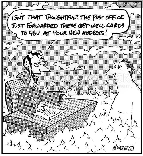mail carrier cartoon