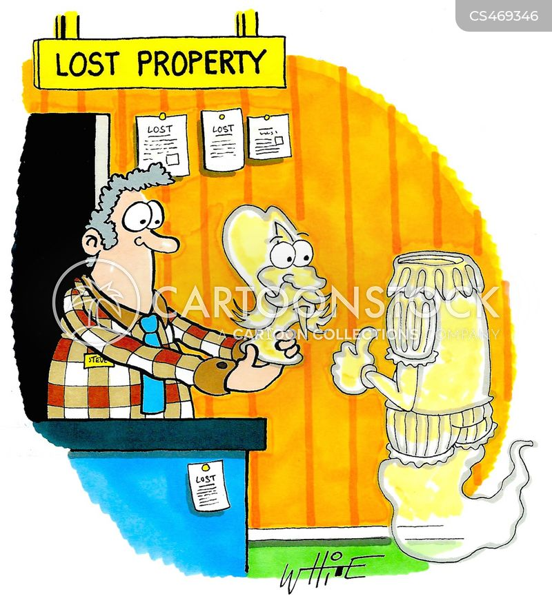 lost property office cartoon