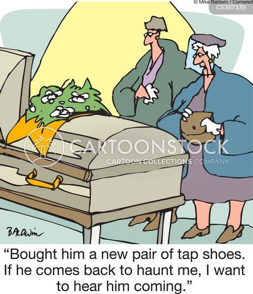 tap shoes cartoon
