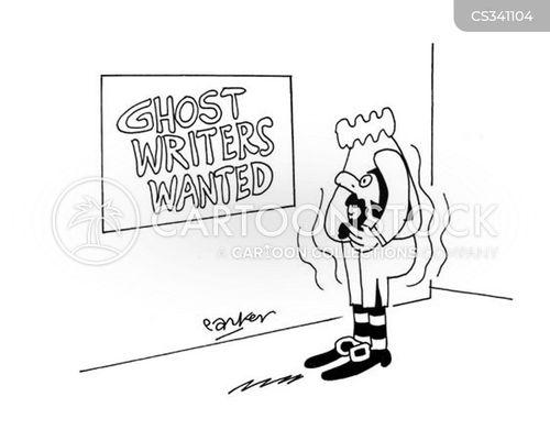 Ghost writes