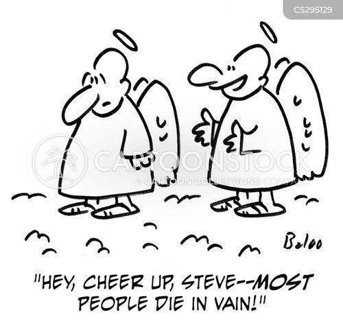 die in vain cartoon