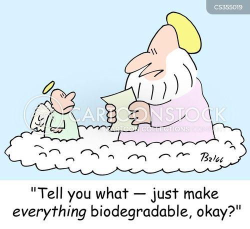 biodegrades cartoon