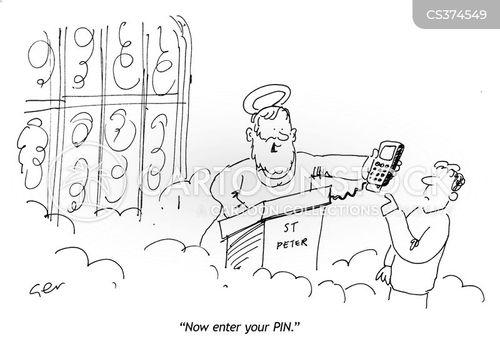 pass codes cartoon