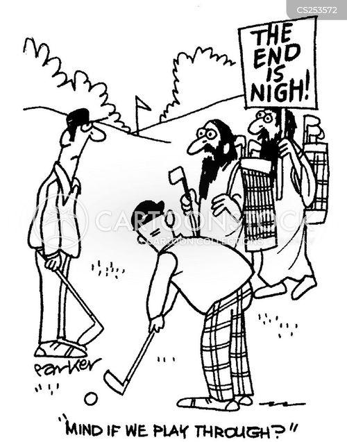 religious fanatic cartoon