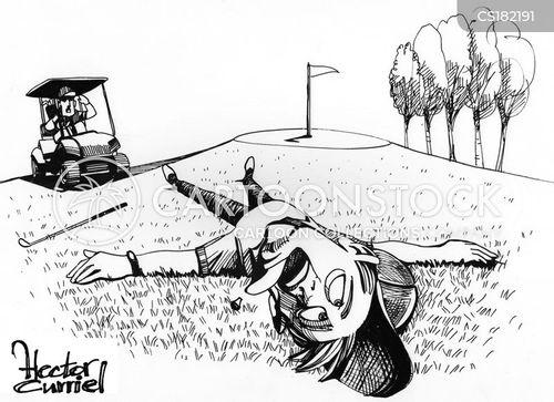 high stress cartoon