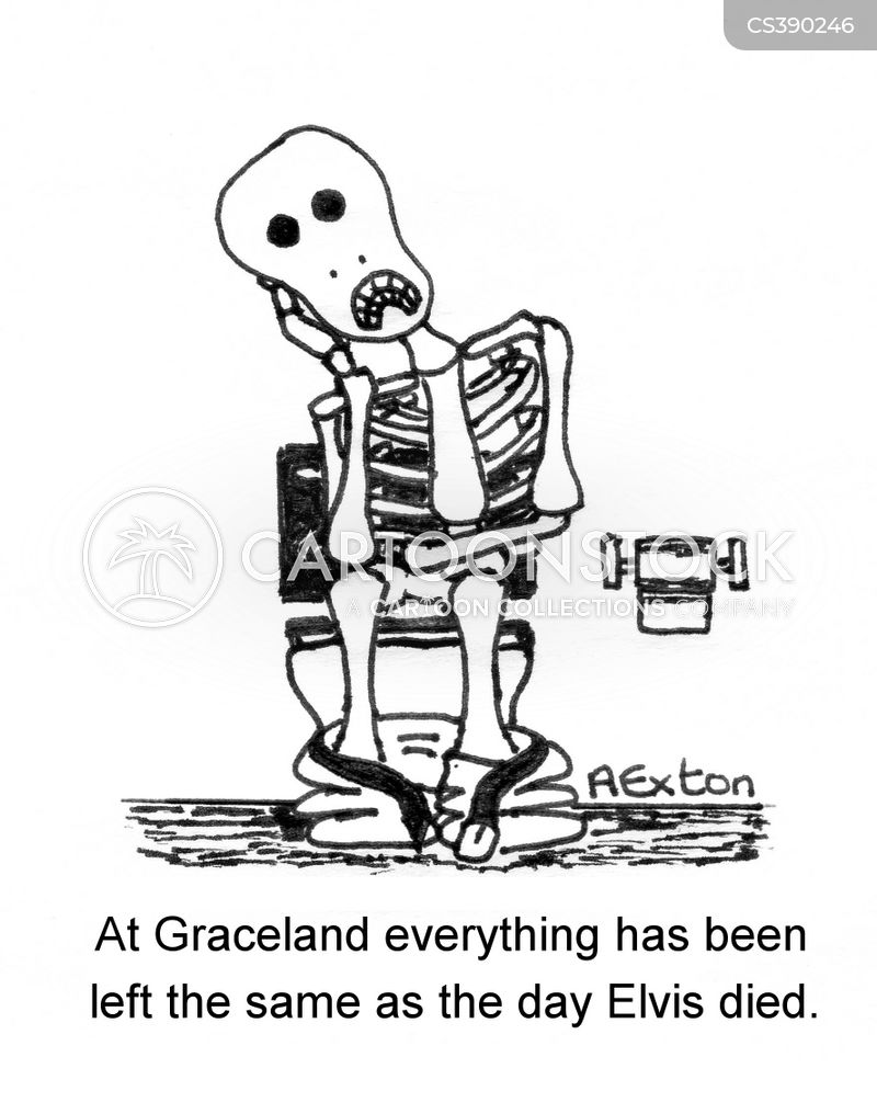 graceland cartoon