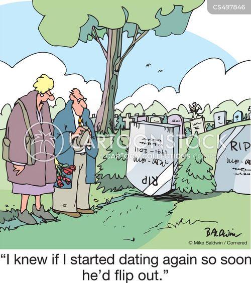 mourning period cartoon