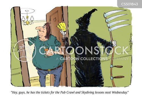 drunken mistake cartoon