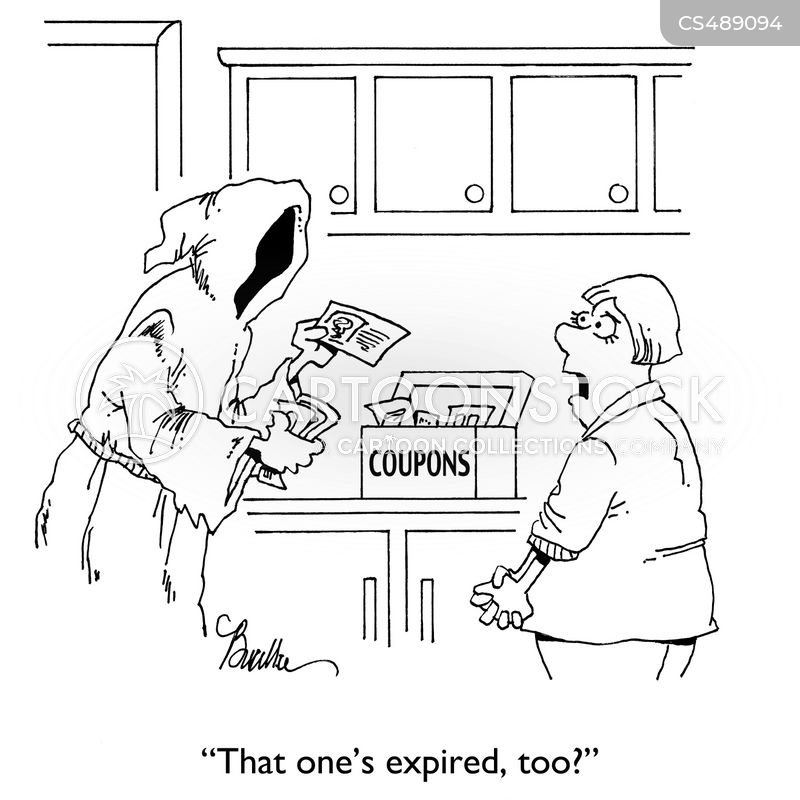 coupon collectors cartoon
