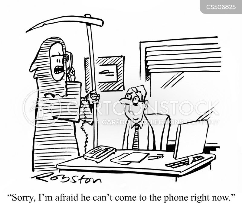 out-of-office cartoon