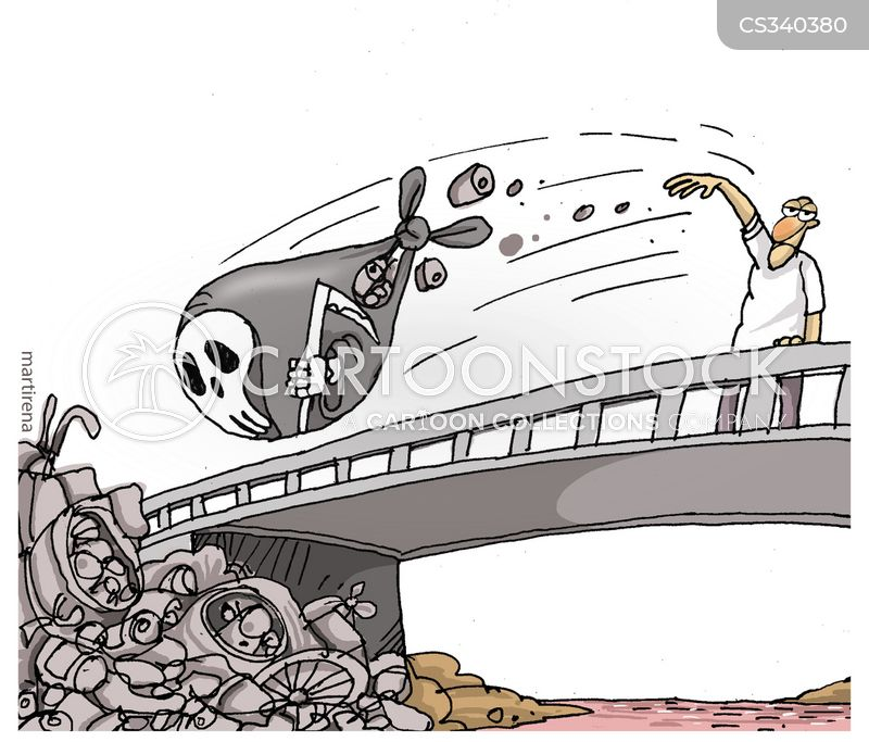 ecological disasters cartoon