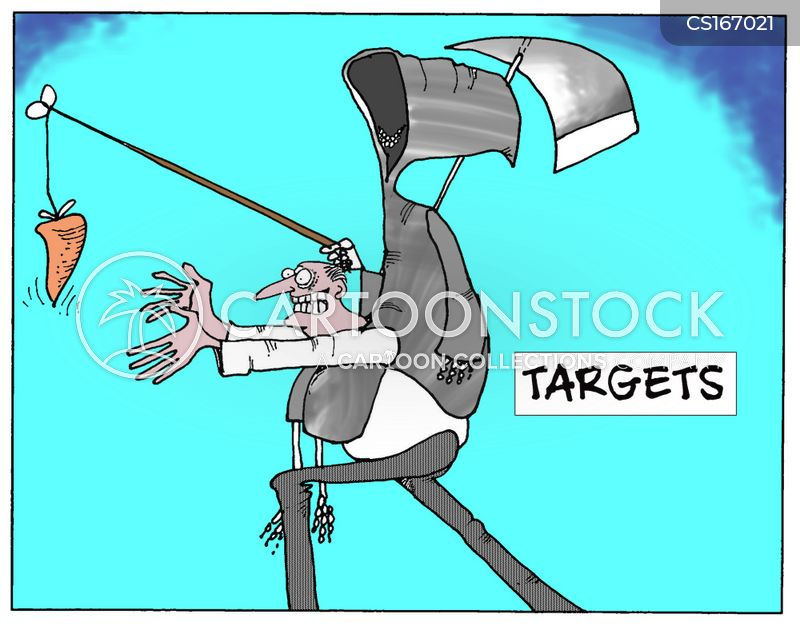 targeting cartoon