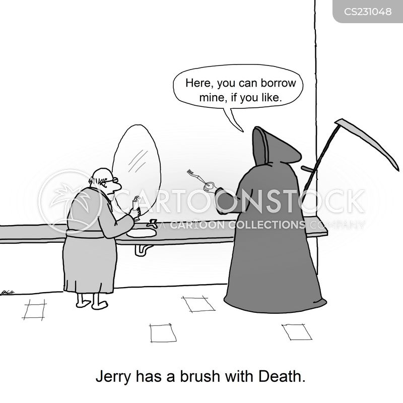 tooth brush cartoon