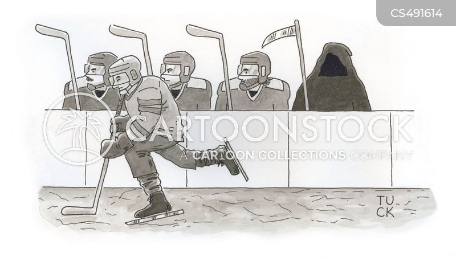 hockey teams cartoon