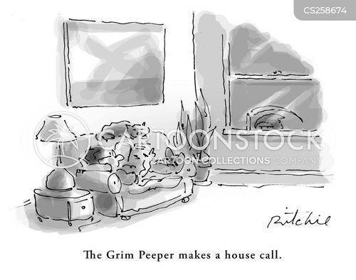 peepers cartoon