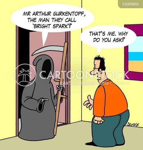 bright spark cartoon