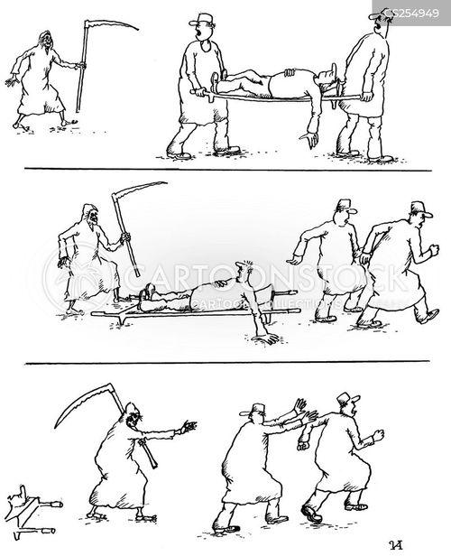 figure of death cartoon