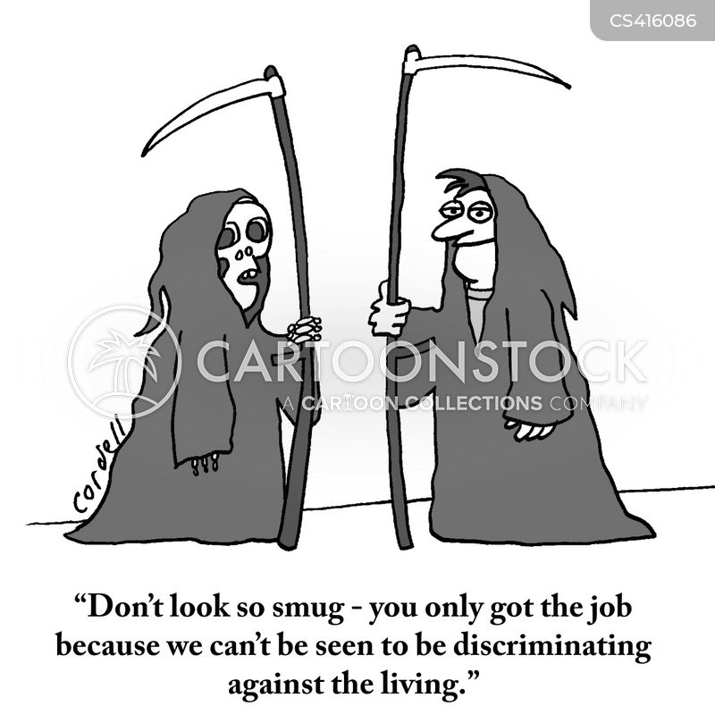 discriminatory practices cartoon