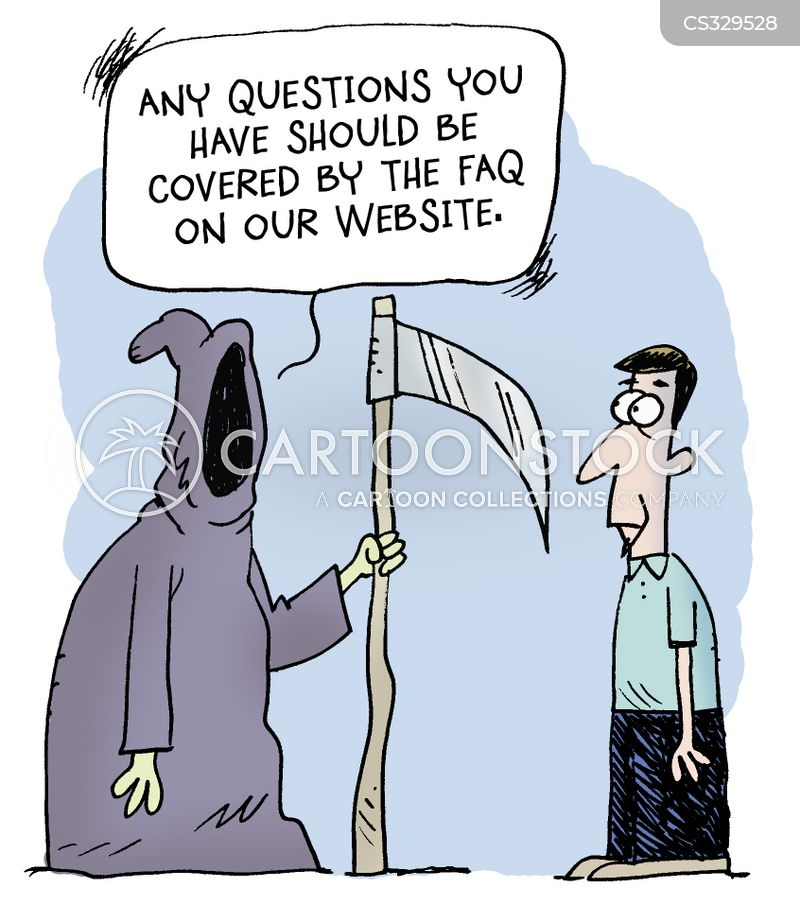 faq cartoon
