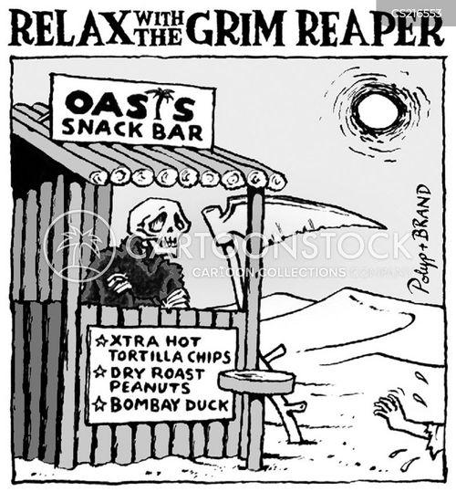 snack bars cartoon