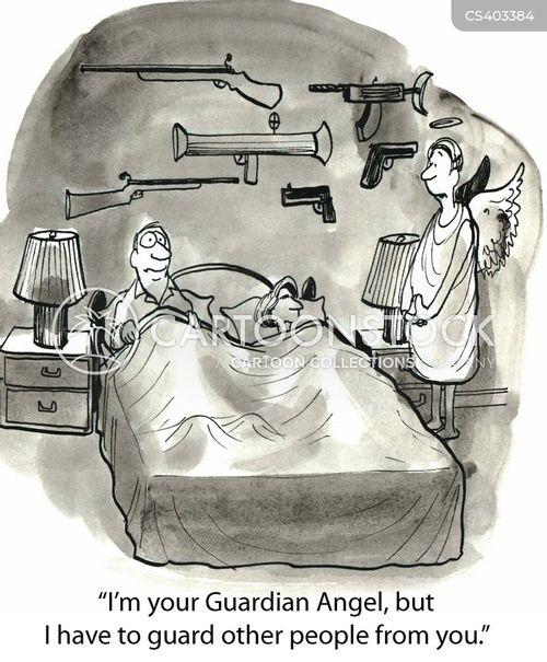 protector cartoon