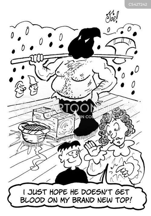 king charles i cartoon