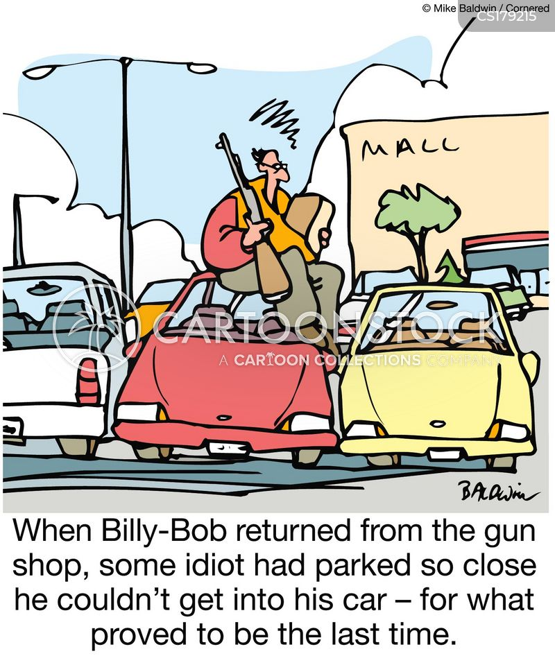 gun shops cartoon