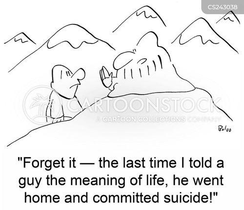 kill yourself cartoon