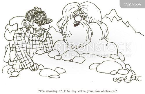 obit cartoon