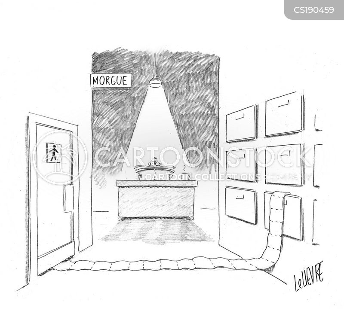 morgue cartoon