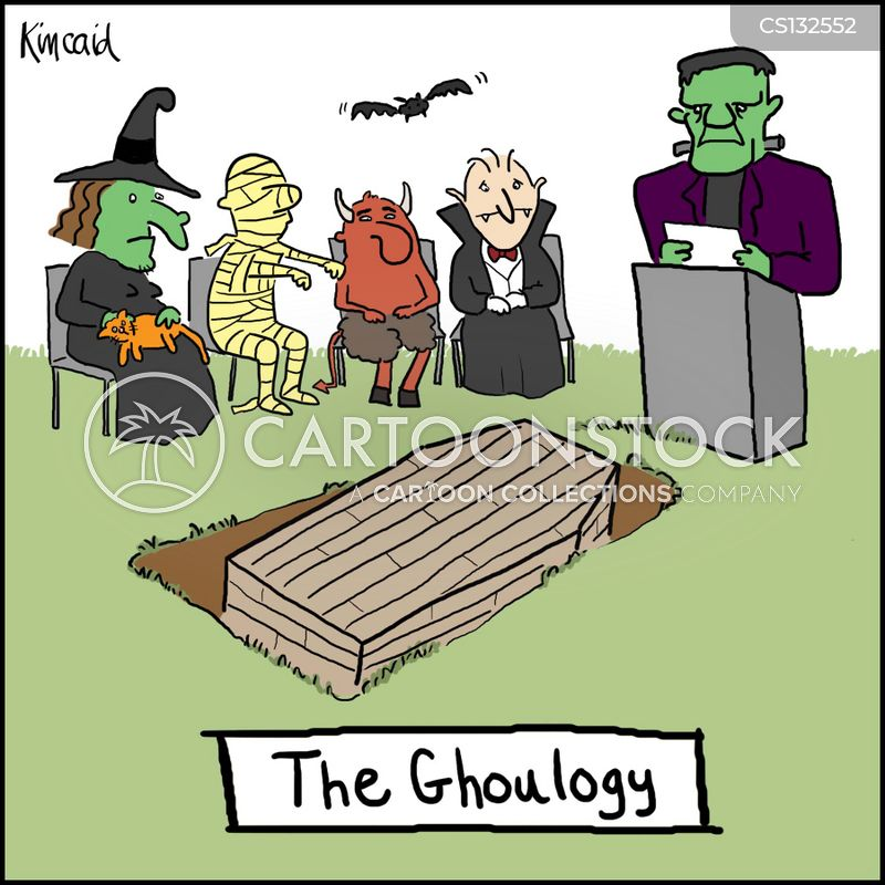 ghouls cartoon