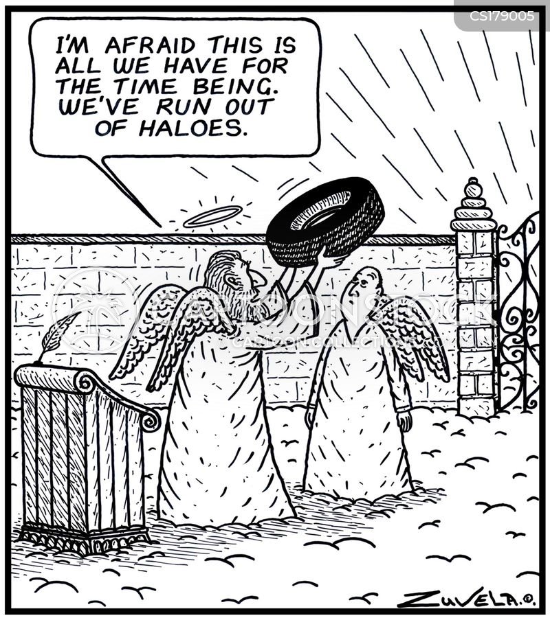 halos cartoon