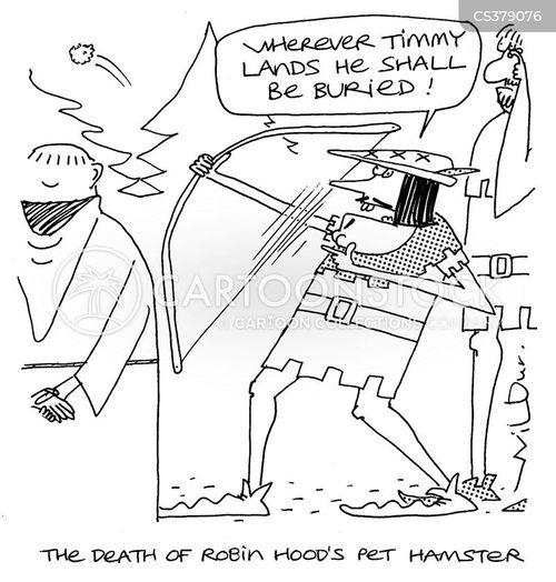 burial ground cartoon