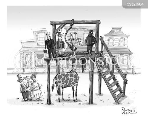 hang man cartoon