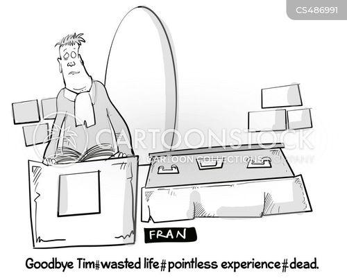 funeral ceremonies cartoon