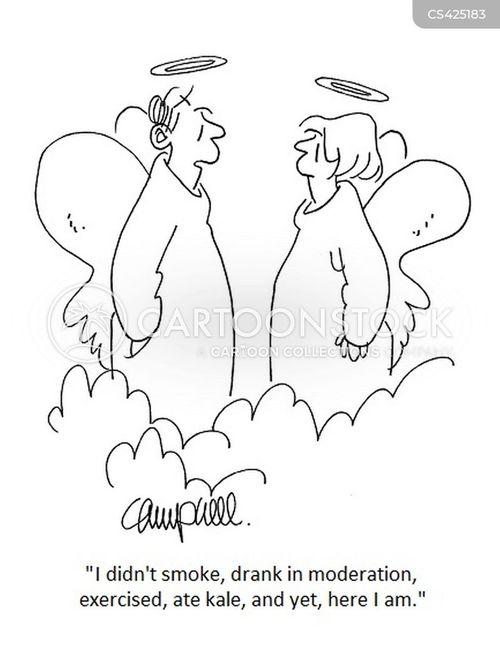 kale cartoon