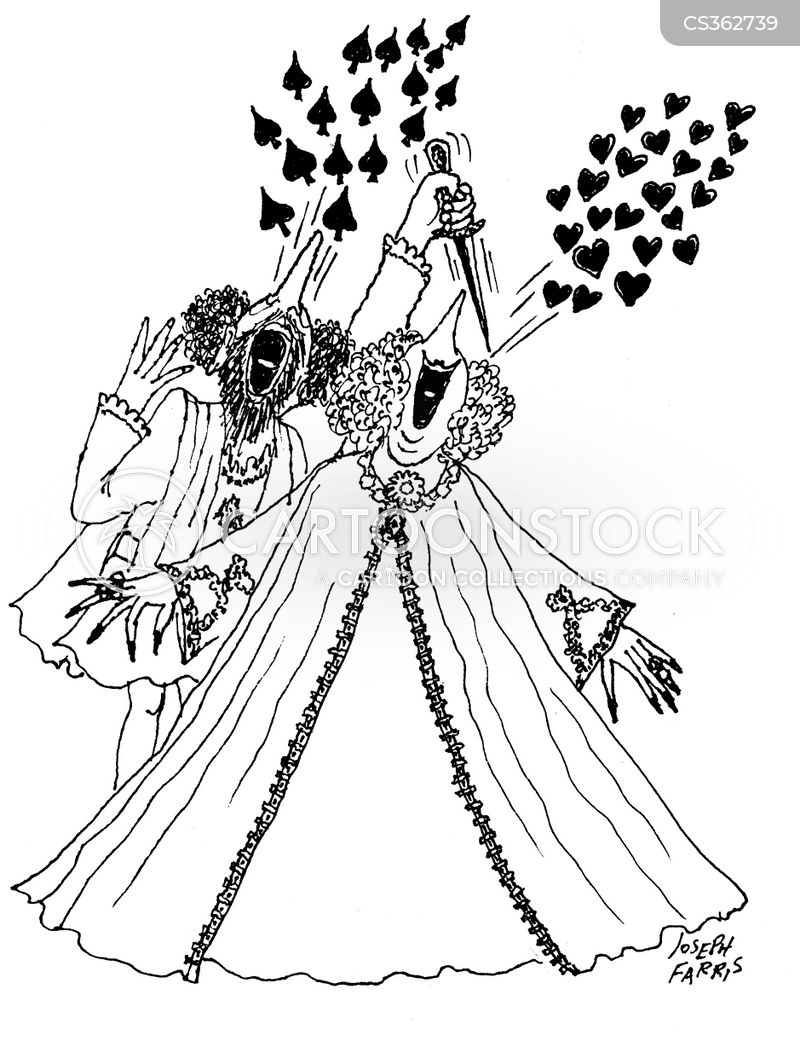 King And Queen Cartoon Drawing King And Queen of Hearts