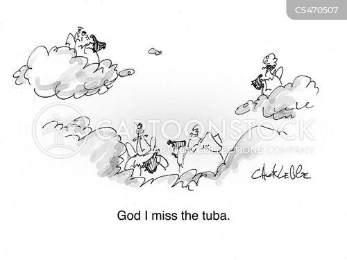 harp music cartoon