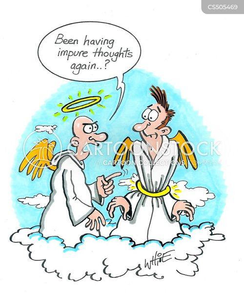 purity cartoon